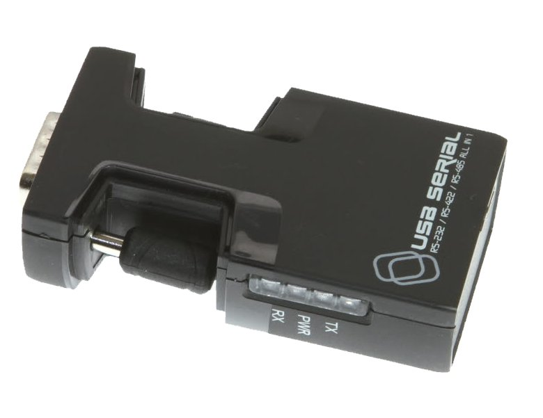 USB Serial Adapter DB-9 Pro Grade FTDI USB to RS-232 / RS-422 / RS-485 Adapter Selectable via Software