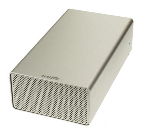 DUAL DRIVE USB 2.0  Aluminum External Drive Enclosure