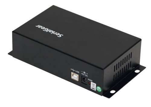 Industrial 8-Port DB-9 RS232 to USB Adapter with Isolation and Surge Protection