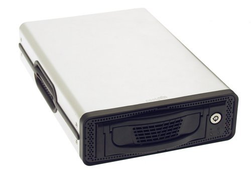 DK-9 Removable Hard-Drive Enclosure USB 2.0 + Firewire 1394 with  Ultra Quiet Cooling Fan