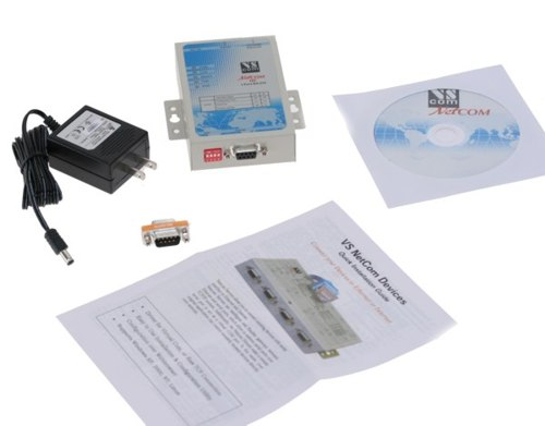 Industrial 1 Port RS-232 DB9 Serial over Network Device Server