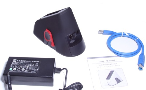 USB 3.0 Super Speed SATA 2.5 & 3.5 Hard Drive Dock with BACK-UP