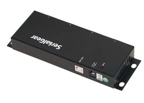 Serial Gear USB BAY-4 Port Serial DB-9 RS-232 Adapter with FTDI Chipset