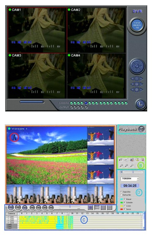 USB Digital Video Recorder 4 video Input channels for XP and Vista.