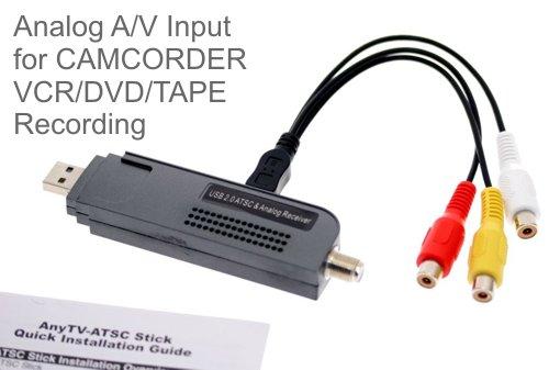 USB 2.0 Digital TV Receiver & Recorder HDTV NTSC ATSC QAM for Vista and XP!