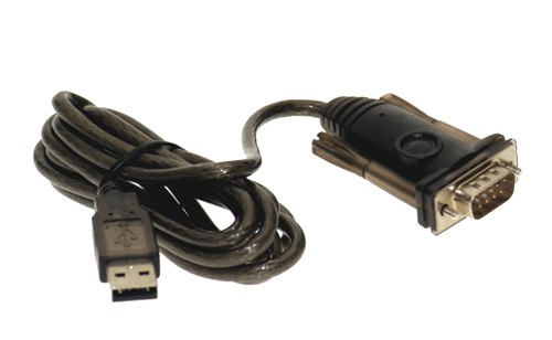 Prolific Chip USB RS-232 Serial Adapter DB-9 Male works with all Windows